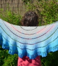 walking on clouds shawl