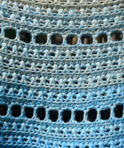 Crochet shawls pattern: walking on clouds, by Vicarno