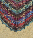 driehoeken in staccato shawl
