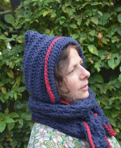fairy hooded cowl