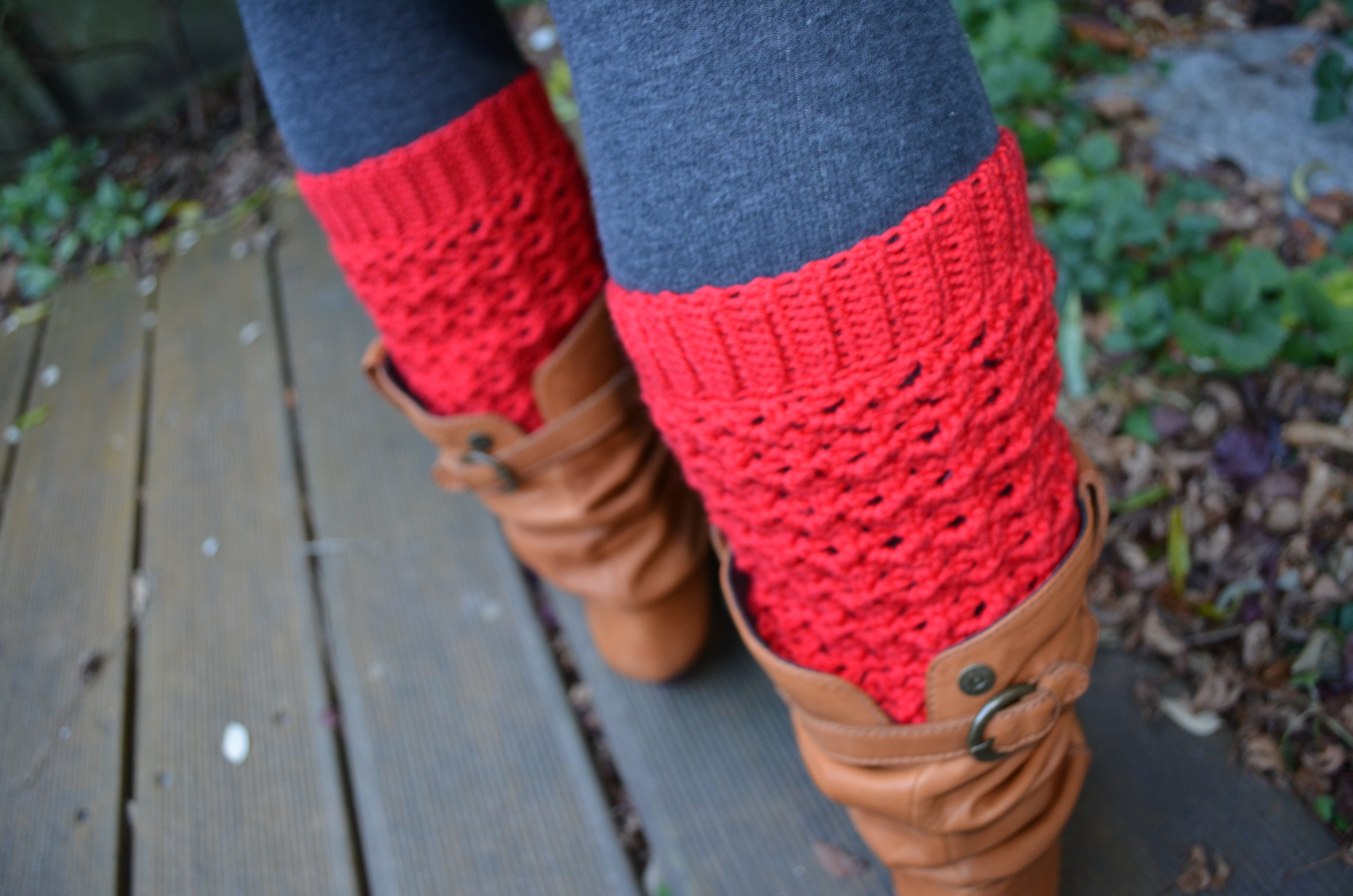 Lace leg warmers for everybody - Vicarno