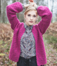 Of Course Cardigan crochet pattern annelies baes vicarno design