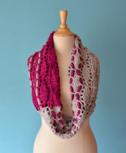 show-me-the-way cowl crochet pattern annelies baes vicarno