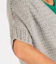 Cremosa Cardigan Annelies Baes Vicarno Crochet Pattern topdown seamless