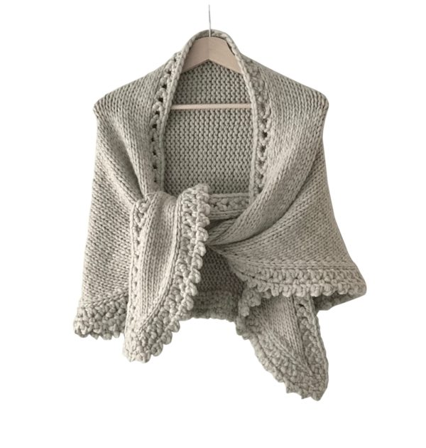 chunky shawl annelies baes vicarno